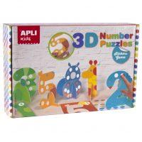 14591 3D Number puzzle