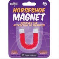 Horseshoe magnet on card 600